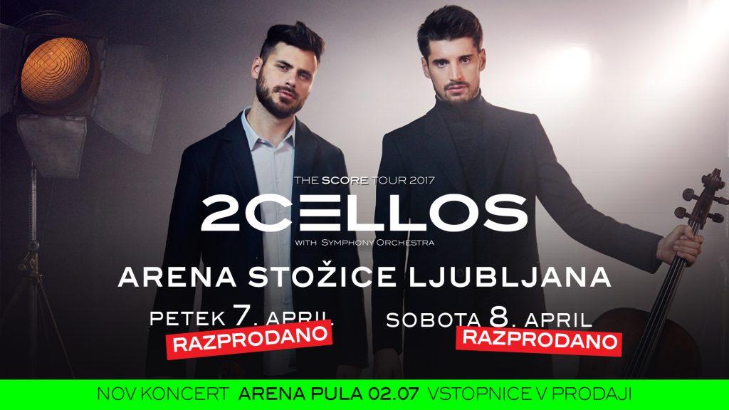 2Cellos_soldout Ljubljana