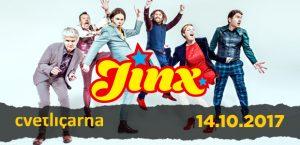 Jinx – Z neverjetno atraktivno energijo se vračajo na oder Cvetličarne!