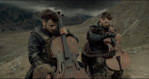 2CELLOS Z NOVIM VIDEOSPOTOM 'GLADIATOR' (SCORE)