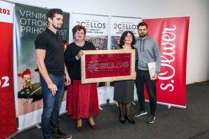 2CELLOS – Loka prodana za 12.000 evrov na dobrodelni dražbi