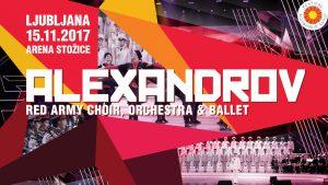 ALEXANDROV- Red Army Choir prihaja v Ljubljano – 15.11.2017 – Arena Stožice
