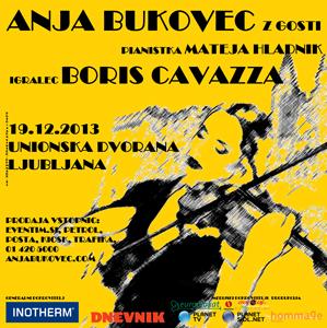 Anja Bukovec z gosti – 7. Božično-novoletni koncert