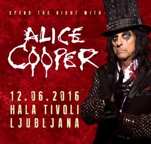 Alice Cooper – 12. 6. 2016 v Hali Tivoli!