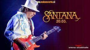 Carlos Santana – 20. 03. 2020 – Wiener Stadthalle, Dunaj