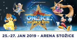 """Prihaja največji pravljični spektakel na ledu – Disney na ledu predstavlja """"Dotakni se zvezd"""""""