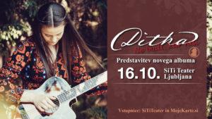 DITKA – Promocijski koncert ob izzidu novega albuma! 16. oktober – SiTi Teater