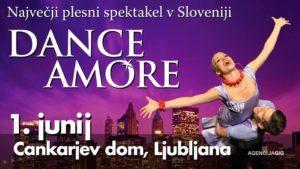 DANCE AMORE – Največji plesni spektakel v Sloveniji se vrača na veliki oder!