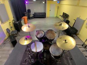 Glasbena hiša GIG – prostori za glasbene vaje v Ljubljani
