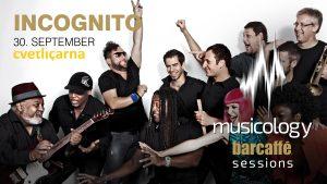Incognito prihaja v Ljubljano – 30. september 2017