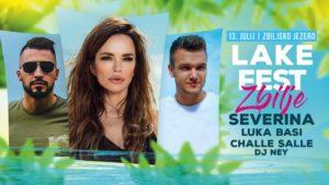 LAKE FEST ZBILJE – Zbiljsko jezero – 13. julij 2019