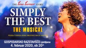 Muzikal SIMPLY THE BEST –  The TINA TURNER Story Velika turneja ob 80. obletnici rock legende