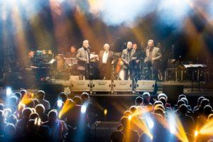 New Swing Quartet 50 let na odru proslavili v svečanem vzdušju pod milim nebom