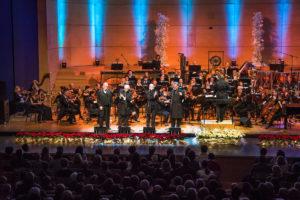 Nepozaben božični koncert Simfoničnega orkestra RTV Slovenija z New Swing Quartetom