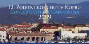 POLETNI KONCERTI V TAVERNI KOPER 2019 – že dvanajstič!