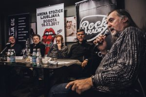 PRLJAVO KAZALIŠTE – Tiskovna konferenca v Ljubljani
