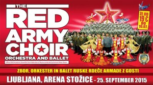 THE RED ARMY CHOIR, ORCHESTRA AND BALLET