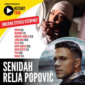 SENIDAH & RELJA POPOVIČ – Restart Tour