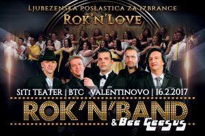 Valentinov koncert: Rok'n'band & BeeGeesus – 16.02.2017 – SiTi teater