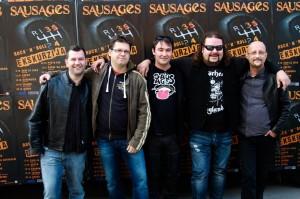 Rock'n'Roll ekskurzija s skupino Sausages navdušuje
