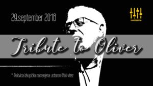 Tribute to Oliver – v spomin hrvaški glasbeni legendi – 29. september 2018, Cvetličarna Ljubljana