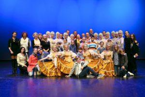 Voroneška dekleta očarala Cankarjev dom – Stoječe ovacije!