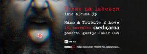 Hamo & Tribute 2 Love – Izid albuma »3p« – Vreme za lubezen – Predstavitev novega albuma na odru Cvetličarne 16. november 2017 – Cvetličarna
