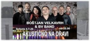 Akustično Na Dravi – Boštjan Velkavrh & BV Band/Maribor Drava