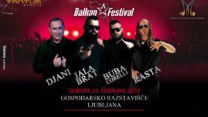 BUBA CORELLI, JALA BRAT, RASTA & DJANI – 23. februar 2019 ob 22h – Gospodarsko Razstavišče, Ljubljana