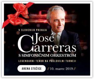 José Carreras – Poslovilna turneja najlepšega tenorskega vokala!