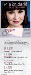 Mia Žnidarič napoveduje cikel koncertov z gosti
