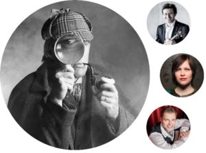 Glasbeni svet Sherlocka Holmesa v Drami – 21. oktober 2018