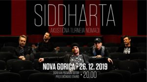 SIDDHARTA akustično / Novoletno doživetje / 26.12.2019 / Nova Gorica