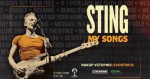 STING: MY SONGS – 4. junij 2019, Ljubljana, Arena Stožice