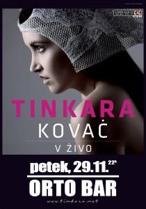Tinkara Kovač, 29.11.2013, Orto bar, Ljubljana