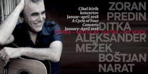 Kitara, moj glas – Cikel štirih koncertov na Ljubljanskem gradu